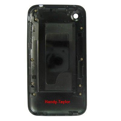 iPhone 3G/3GS Back Cover / iPhone Rear Panel Schwarz (16GB)