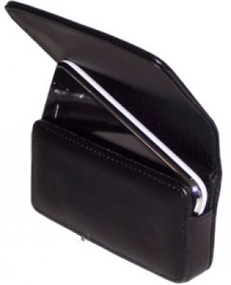 iPhone 4 Ledertasche elegant (Quertasche)