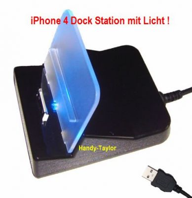 iPhone 4/3GS/3G/2G/iPad 1 Dock Station