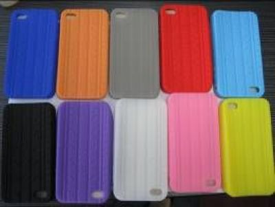 iPhone 4 Silicon Case im Reifendesign (3 Farben)