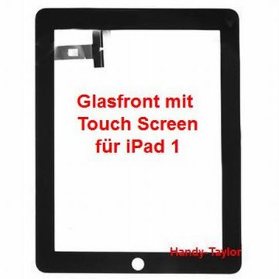 iPad 1 Glasfront mit Touch Screen