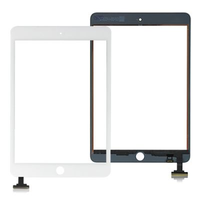 iPad MINI 1,2 Glasfront mit Touch Screen (Weiß)