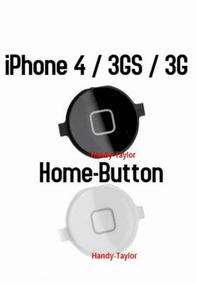 iPhone 4 Home-Button / iPhone 4 Home-Knopf