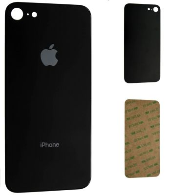iPhone 8 Backcover Glas (Farbwahl) mit Kleber
