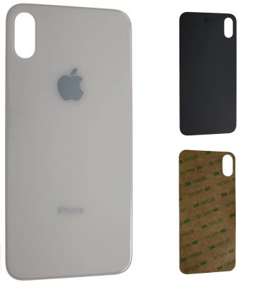 iPhone XS Backcover Glas (Farbwahl)