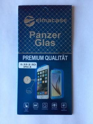 iPhone X Panzerglas / Displayschutzfolie