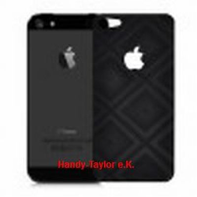 iPhone 5/5S Back Cover 3D Carbon-Schutzfolie