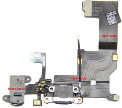 iPhone 5 Flexkabel mit Audio Jack, Dock Connector und Mikrofon