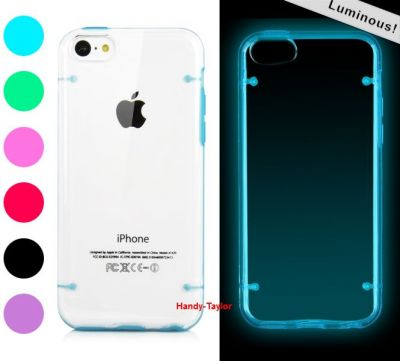 iPhone 5C TPU Hard Case (2 Farben)
