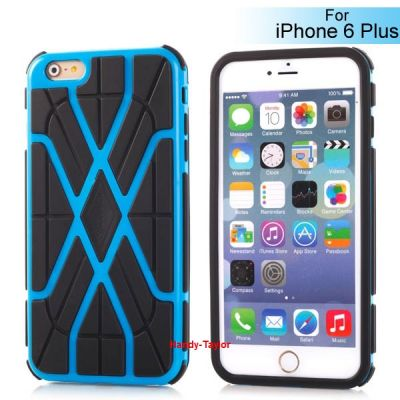 iPhone 6+ / 6S+ Spinnennetz TPU Case (2 Farben)