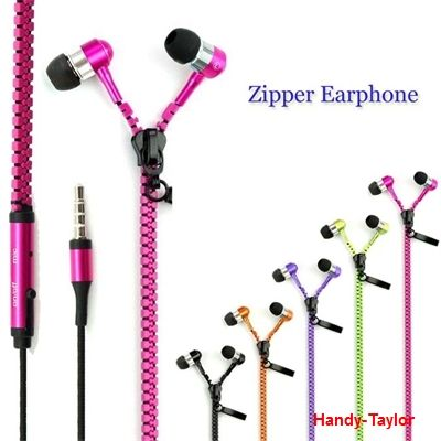 iPhone / iPad ZIPPER Stereo-In-Ear-Headset (Farbwahl)