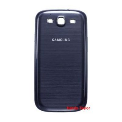 Samsung GT i9300 Galaxy S3 Back Cover Blau